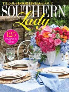 A picture of the cover of Southern Lady magazine's May/June issue