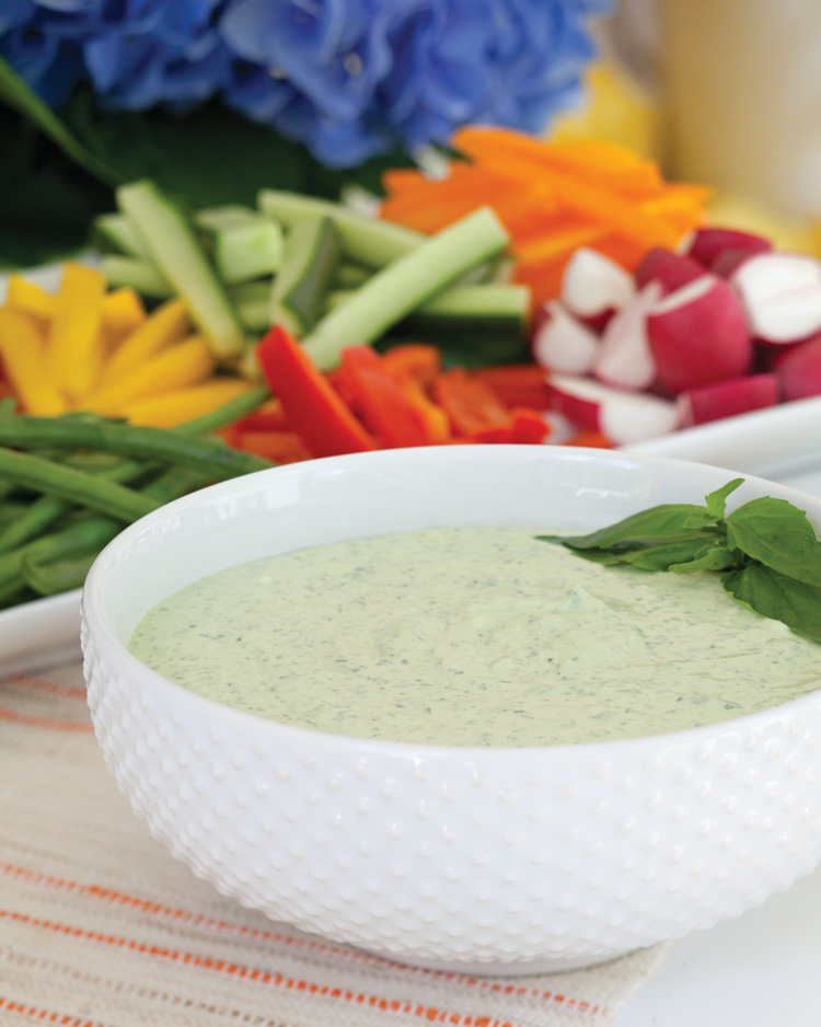 A picture of Creamy Basil Dip