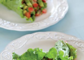 A picture of Summer Lettuce Wraps