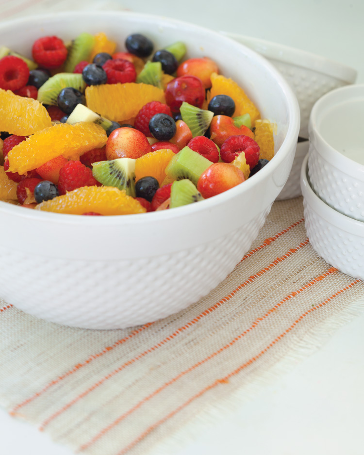A picture of Fruit Salad in Orange Syrup