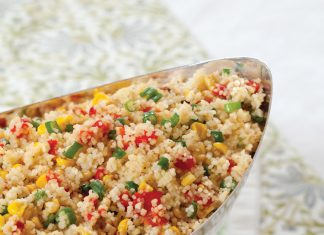 A picture of Roasted Corn and Red Pepper Couscous