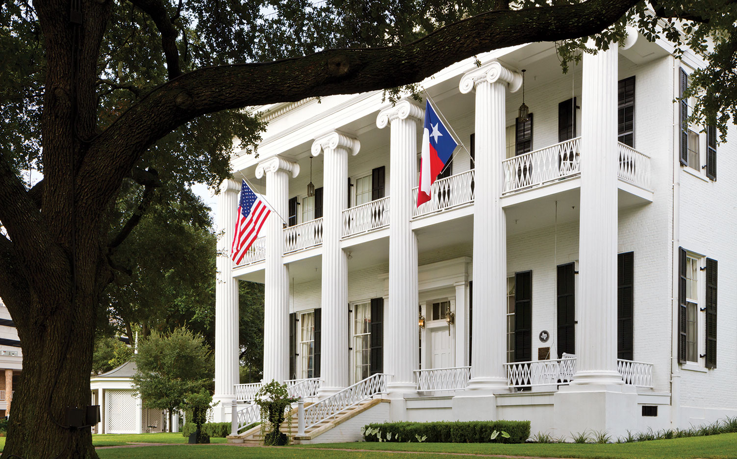 Texas First Lady Cecilia Abbott, Texas Governor's Mansion