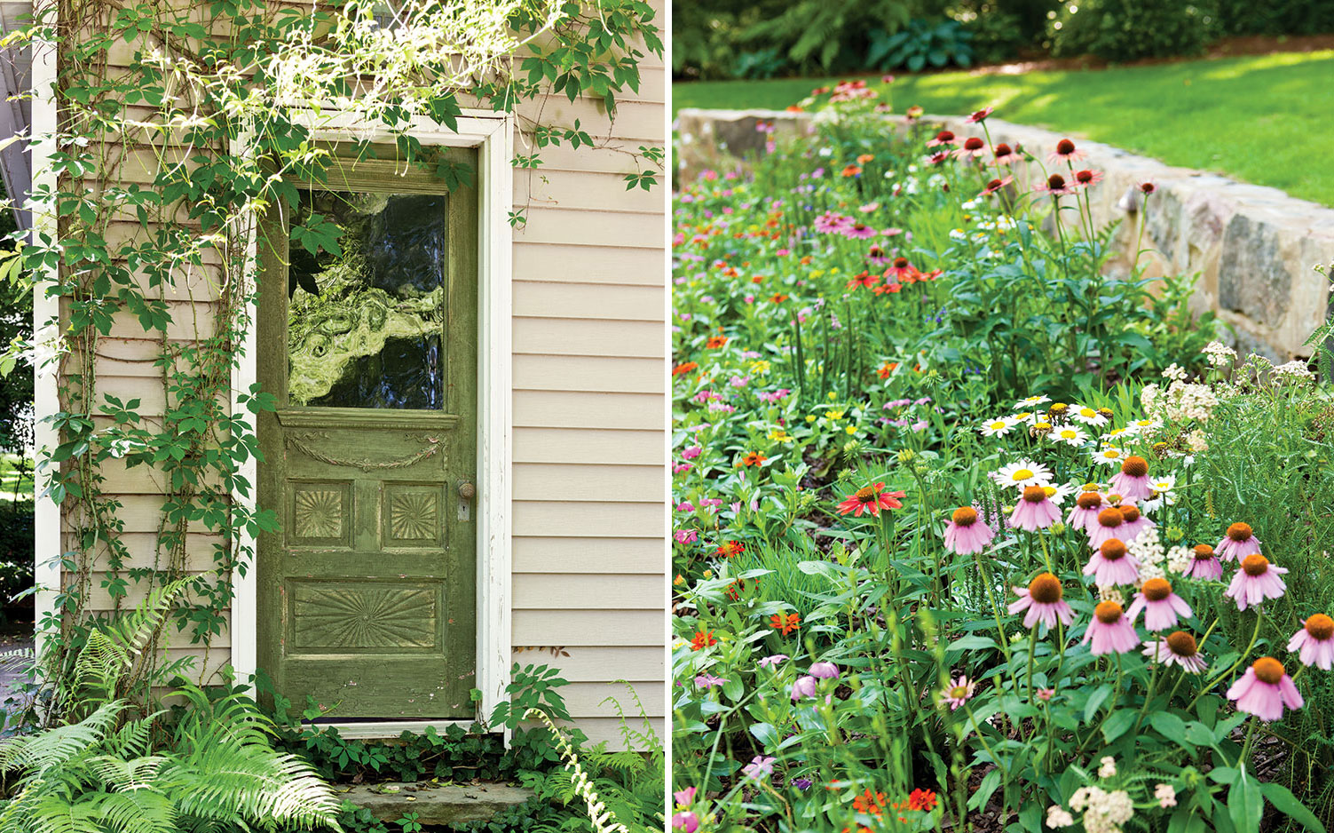 Cottage Garden door