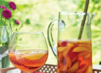 Stone Fruits, sangria