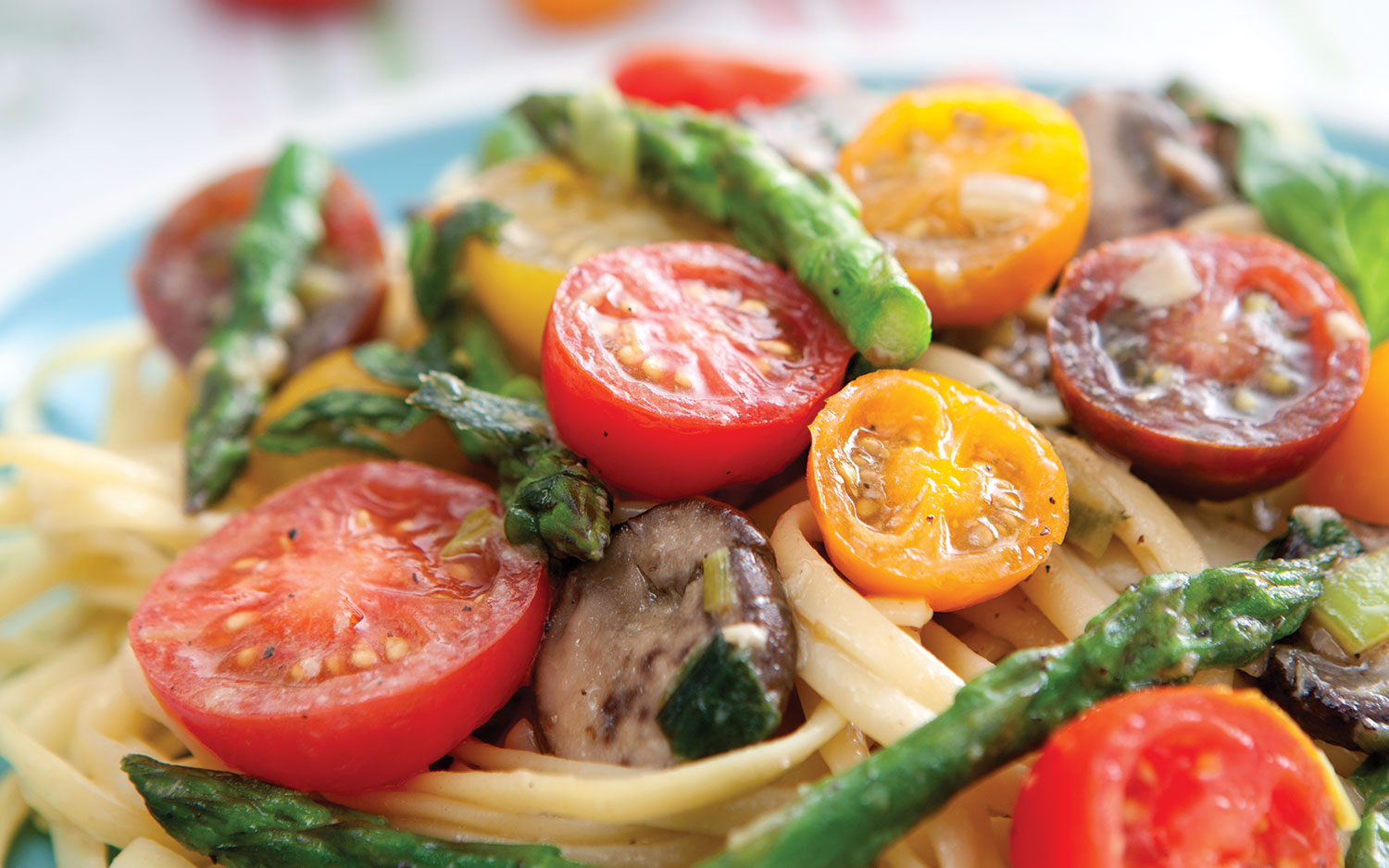 linguini with veggies Vivacious Veggies: Meals to Please Your Family