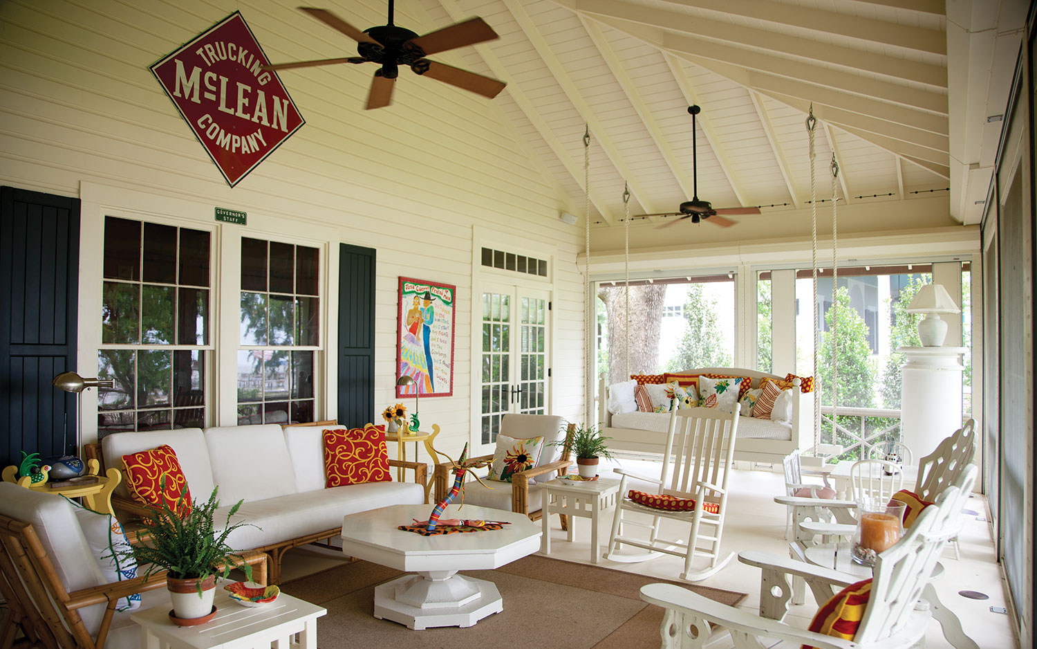Back Porch Charm Southern Lady Magazine