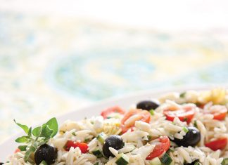 a picture of Orzo Salad