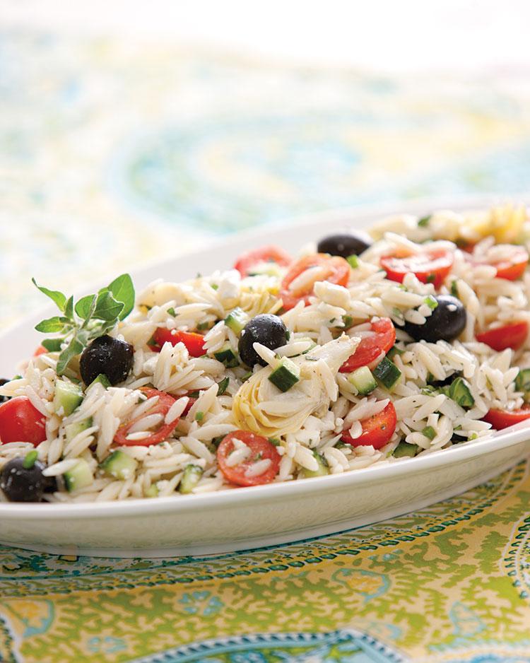 Orzo Salad Vivacious Veggies: Meals to Please Your Family