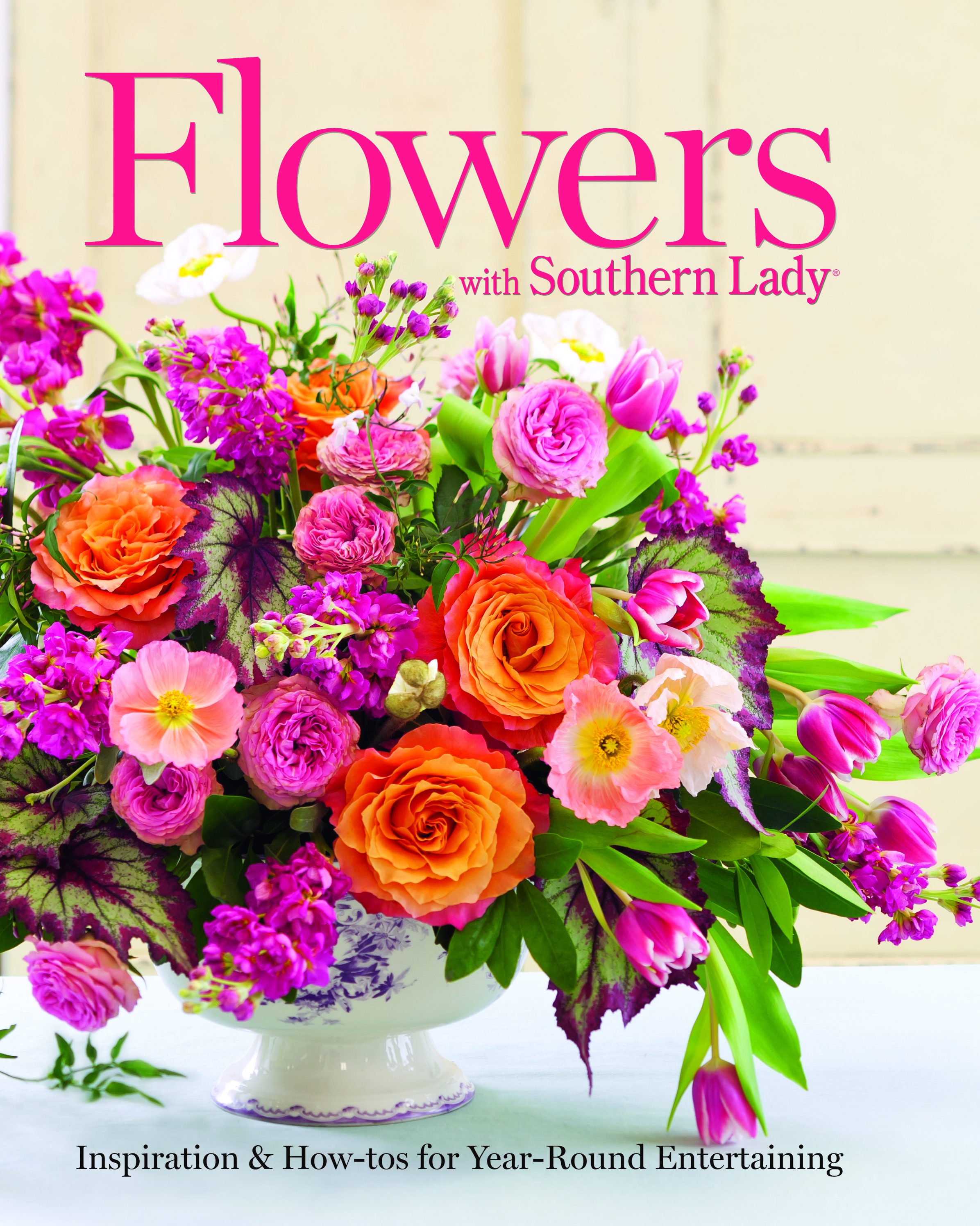 Book Cover Flower : Simple ways with summer blooms southern lady magazine