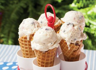 Summer Cookout Recipes, All-American Ice Cream