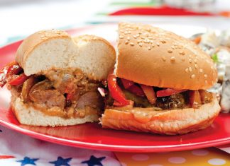 Summer Cookout Recipes, Bratwurst