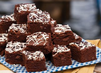 Summer Cookout Recipes, Triple Chocolate Brownies
