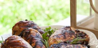Summer Cookout Tangy Herb-Marinated Chicken