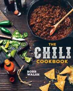 A picture of the cover of The Chili Cookbook by Robb Walsh