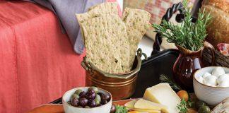 Tuscan meal, antipasti platter