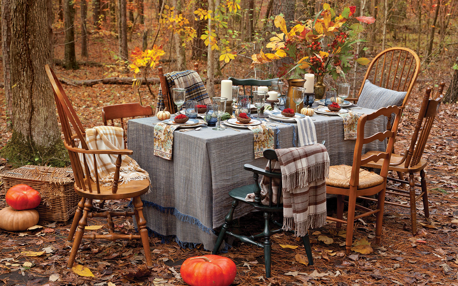 Charming Autumn Tablescapes Southern Lady Magazine
