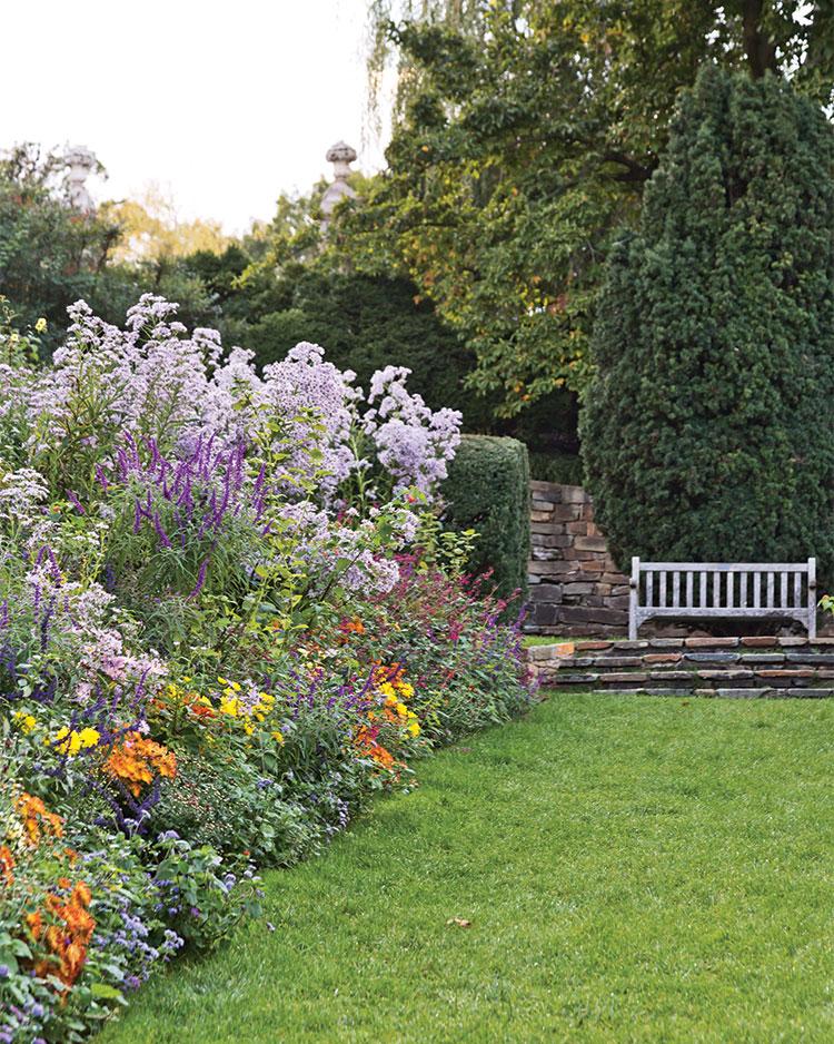 A photo of Dumbarton Oaks in Georgetown Washington DC