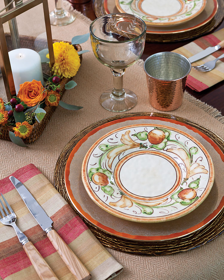 L'objets Fortuny Harvest Place Setting