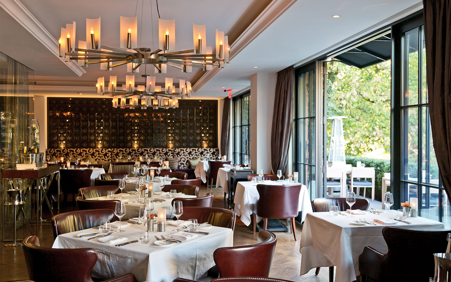 A photo of a Rosewood Restaurant in Georgetown Washington DC