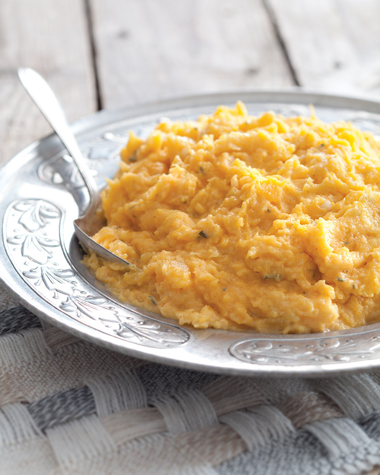 A Family Gathering butternut squash mash