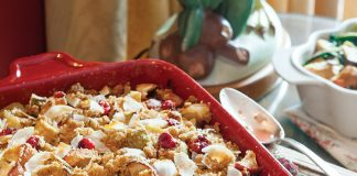 Merriest Morn Baked Apples, Pears, and Cranberries