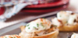 Turkey Prosciutto and Mushroom Croque Monsieurs