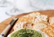 enticing holiday appetizer baked brie with gremolata