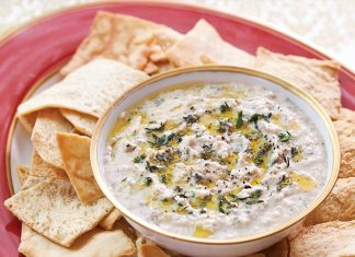 White Bean Hummus with Herbs