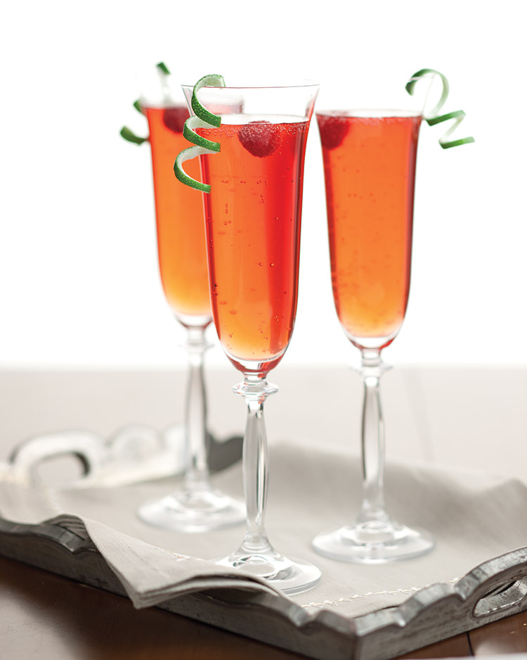 Seasonal Sippers Sparkling Christmas Cocktails