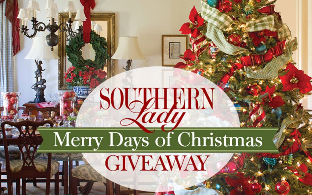 Southern Lady's 2016 Merry Days of Christmas Giveaway