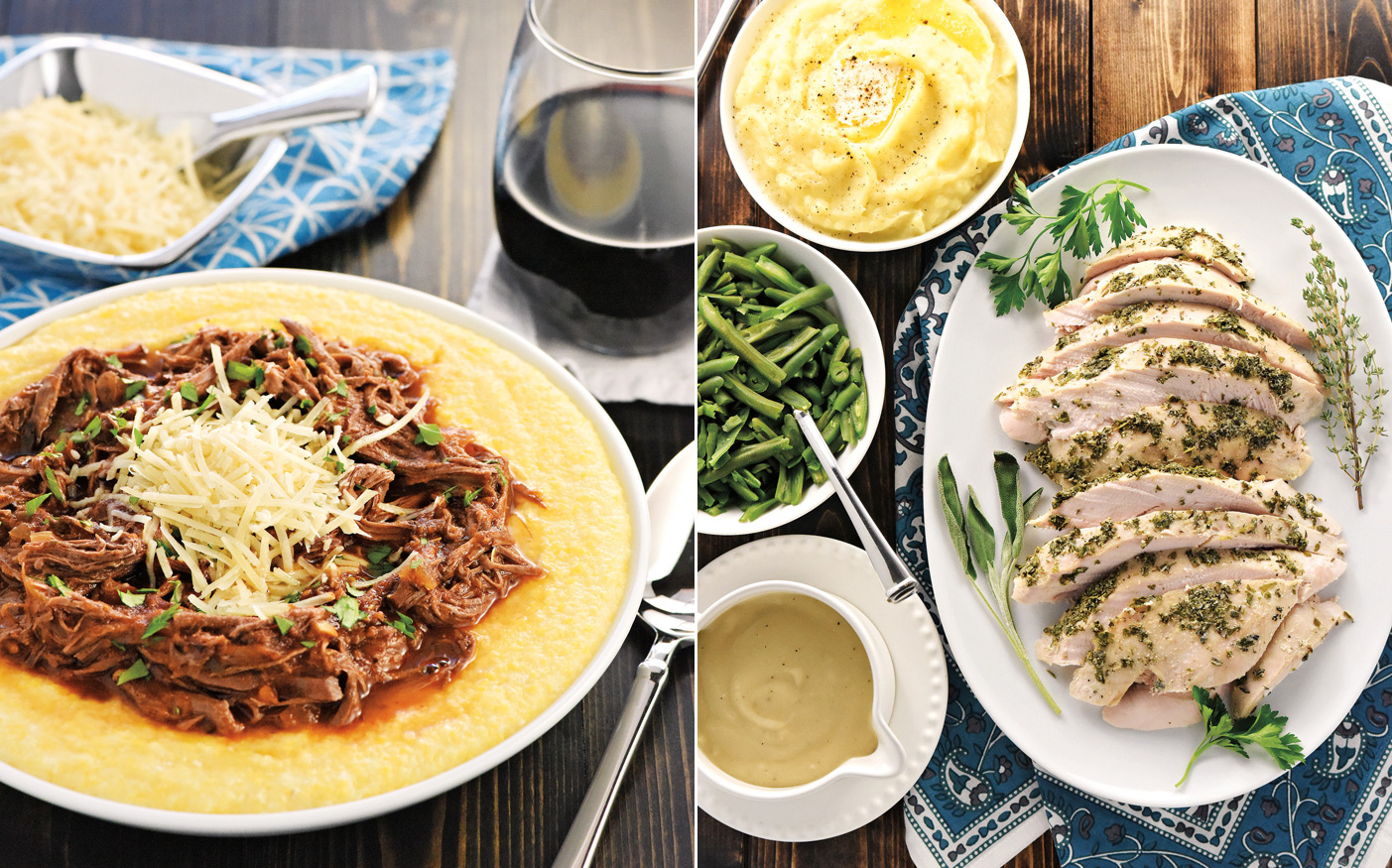 A picture of recipes from Real Food Slow Cooker Suppers