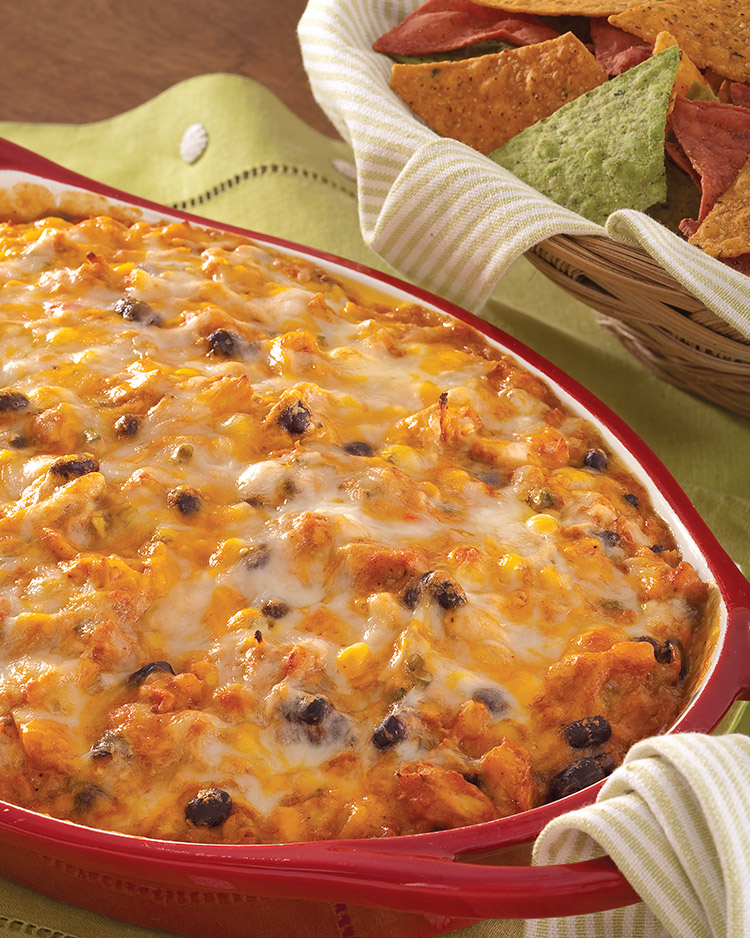 easy appetizers Barbecue Chicken Dip
