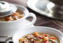 Duck and Potato Chowder winter soup