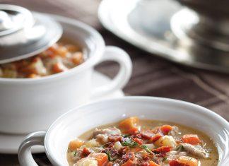 Duck and Potato Chowder winter soup