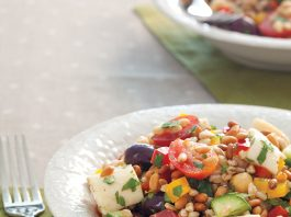 Healthy Start Farro Salad with Vegetables