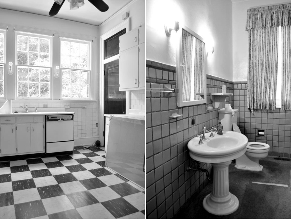 Renovation Diary: The House on Gates, Part 2- Kitchen and Bathroom