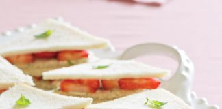 Strawberry Tea Sandwiches