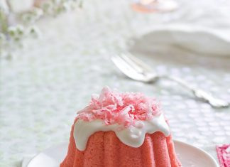 Petite Strawberry Coconut Cakes Sweets Social