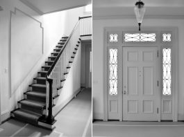 Renovation Diary: The House on Gates, Part 2- Entry Stairway and Front Door