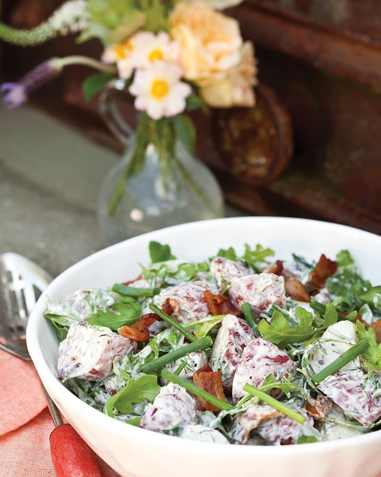 Arugula Potato Salad - Southern Lady Magazine