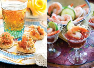 A picture of recipes from Southern Appetizers by Denise Gee