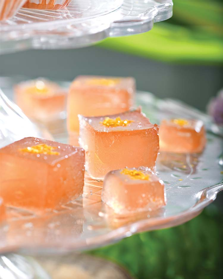 Pink Grapefruit Jellies