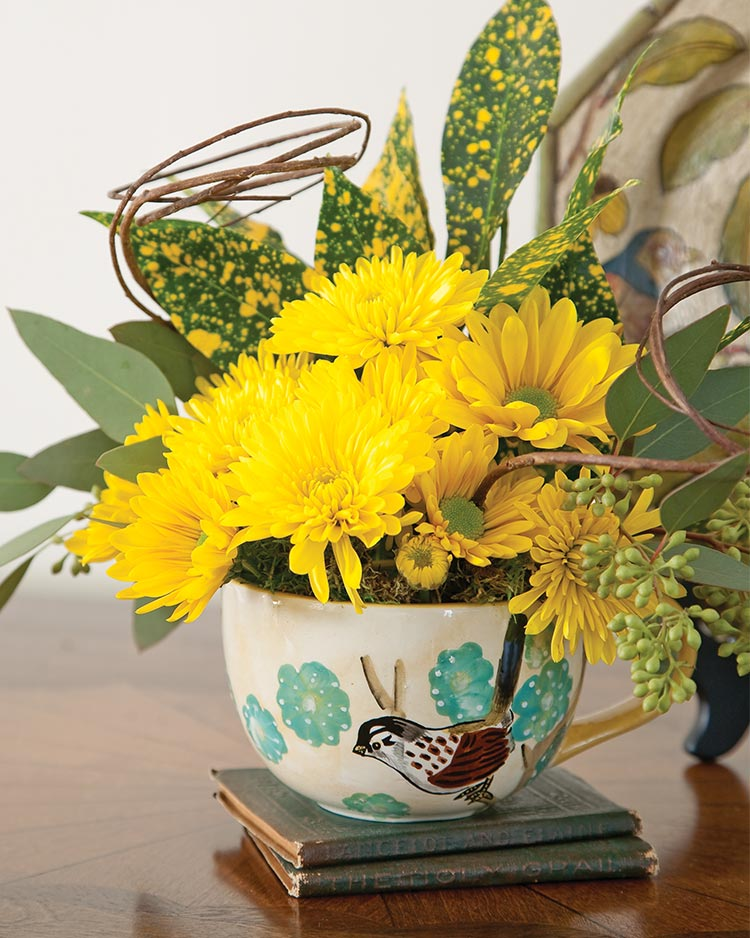 Creative Ways with Small Floral Arrangements