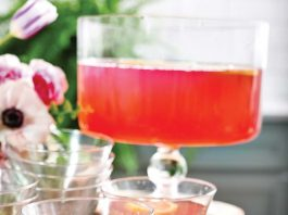 Lavender Pink Lemonade Punch