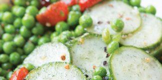Dill Pea Cucumber Salad
