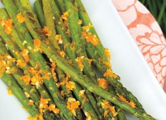 Roasted Asparagus with Orange Butter