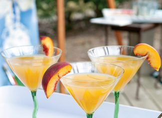 Peachy Keen Martini