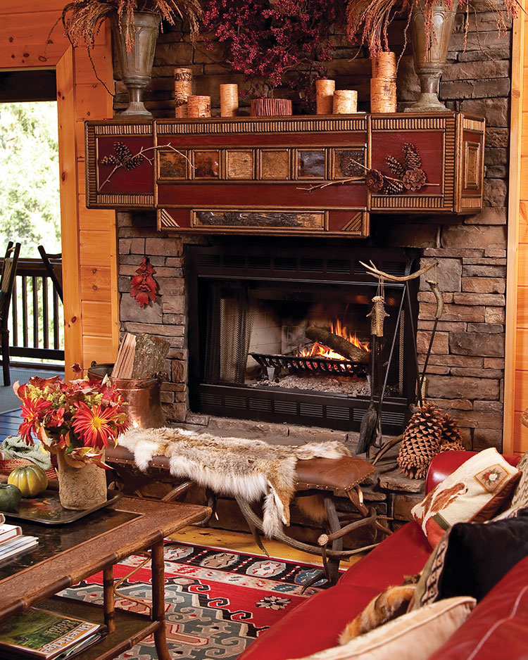 Seasonal Settings: Cabin Chic