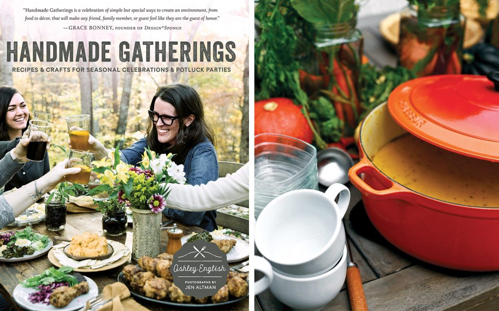 Handmade Gatherings Cookbook Giveaway