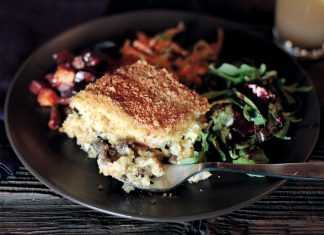 Mashed Root Vegetable Casserole